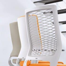 Klober bureaustoel met verschillende stoffering