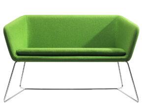 Casprini sofa Double Mamt met metalen onderstel