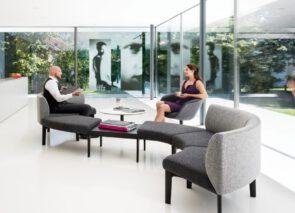 sofa Sedus wachtkamerbank