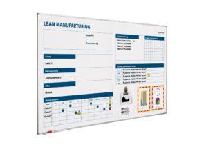 Smit Visual Lean manufacturing verbeterbord