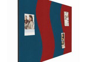 Smit Visual Wave Pin Paneel in 2 kleuren formaat 90 x 120 cm