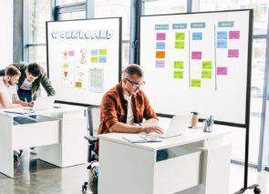 Smit Visual Workboard - verrijdbaar - scrummen - agile werken