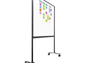 Smit Visual dubbelzijdig verrijdbaar Workboard - whiteboard - scrummen