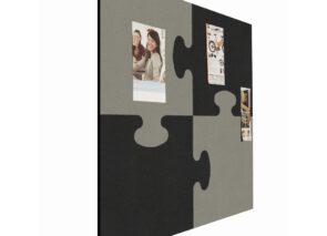 Smit Visual puzzle pin paneel in 2 kleuren formaat 100 x 100 cm