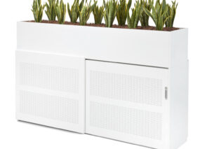 Voortman Sound and Vision akoestische kast met plantenbak. Tweezijdig te gebruiken