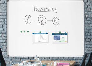 Smit Visual whiteboards voor op kantoor