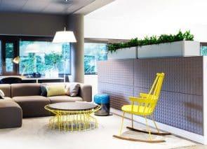 Akoestische kastrug panelen in uw kantoormeubilair