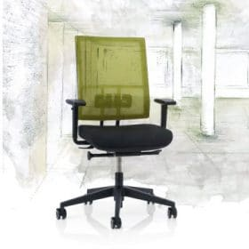 Bureaustoel met netweave rug