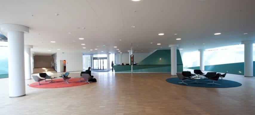 Akoestische systeemplafonds beperken geluidoverlast en nagalm in open ruimtes