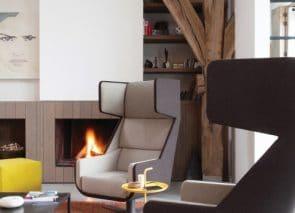 Akoestische fauteuils met een mooie strakke design uitstraling