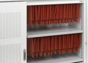 Inhoud indeling akoestische schuifdeurkast archiveren