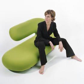 Chaise longue bank design kantoorinrichting