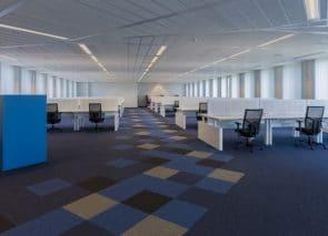 totaalinrichting projectstoffering tapijttegels