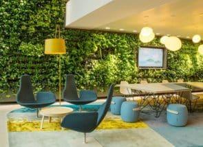 Groen op werkplek