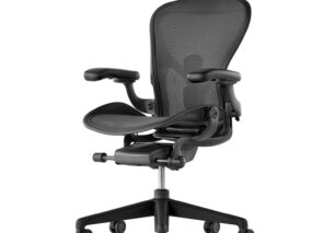 Aeron Chair, Graphite Herman Miller
