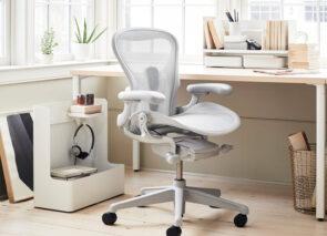 Aeron bureaustoel ook voor de thuiswerkplek