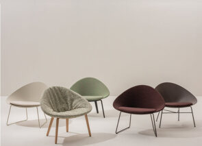 Arper Lounge armchair Adell 2020