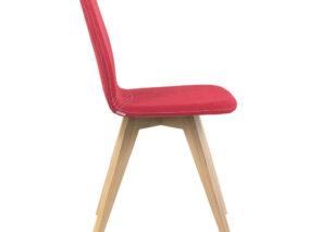 MOOD stoel met houten onderstel