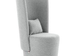Mobitec BOLERO privacy stoel met hoge rug