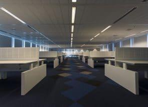 werkplekken met akoestische bureauwanden Amsterdam