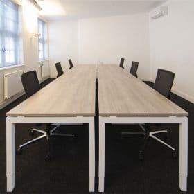 kantoorinrichting Maastricht lange tafel