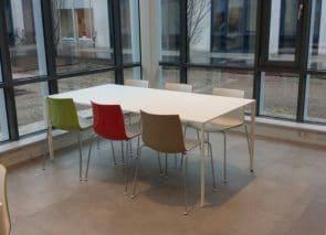 kantoorinrichting kantine-inrichting Arper Utrecht