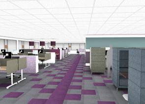 3D kantoorontwerp