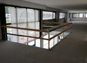 Kantooraanpassing Schindler in Zwijndrecht