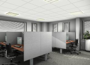 3D kantoorontwerp voor ICBC