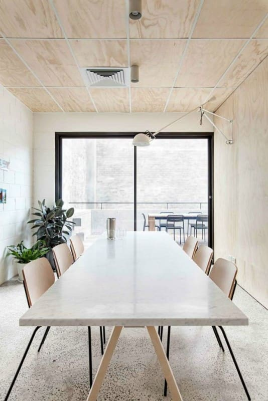 modern kantoorinrichting