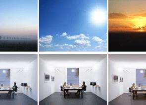 Moderne kantoorinrichting