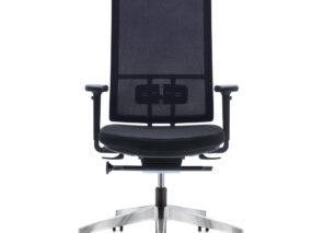 Anteo Up Bureaustoel met een Netwave rugbespanning