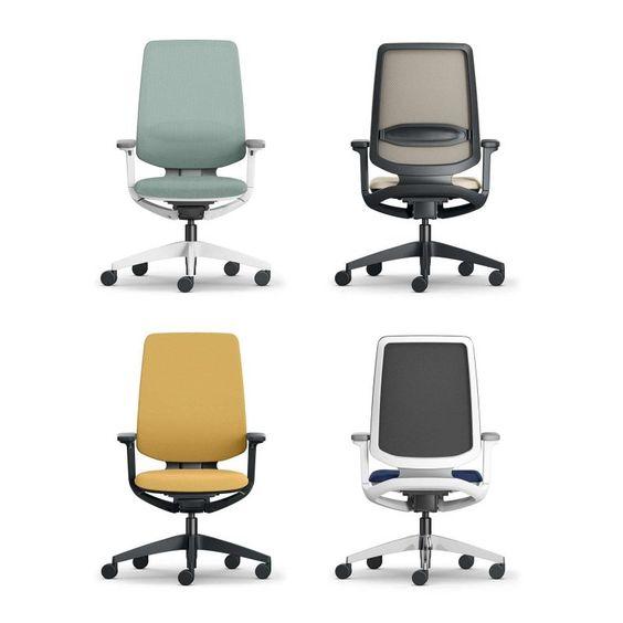 Bureaustoelen zijn er in veel verschillende kleuren en stijlen