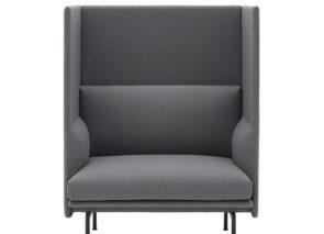 Muuto Outline sofa - fauteuil met hoge rug