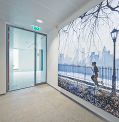 de Blick Wall Systems geven kleur aan een ruimte en verbeteren de akoestiek aanzienlijk