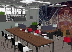 3D kantoorontwerp Pro Industry