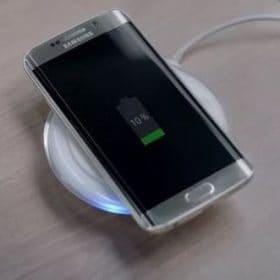 draadloze telefoon oplader kan zichtbaar en onzichtbaar in en onder gebouwd worden