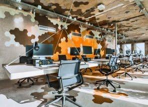 Donkersloot Hexagon tegels te verwerken op vloeren en wanden