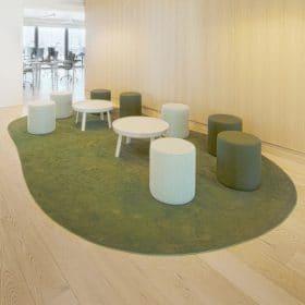 Donkersloot Karpet in speelse vorm