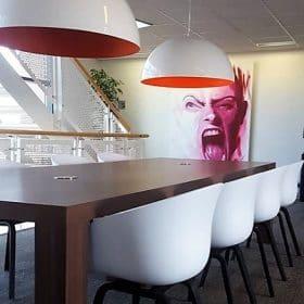 Project kantoorinrichting bij Detron in Veenendaal