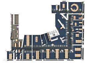 Kantoorontwerp Panalpina Rotterdam