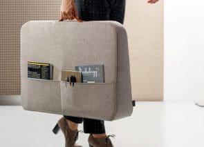 Cascando Trunk desk akoestisch dempend en makkelijk te verplaatsen