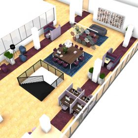 CNV 3D inzicht in herinrichting kennisplein CNV