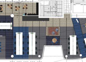 2D ontwerp Hays in WTC Utrecht