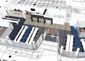 3D ontwerp Hays in WTC Utrecht