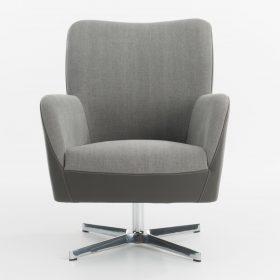 Bert Plantagie Bolero fauteuil op draaipoot