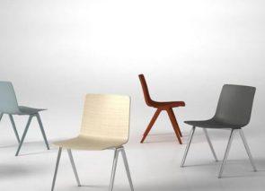 Brunner a-chair koppelbare stoelen