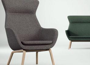 Brunner crona lounge fauteuil en bank