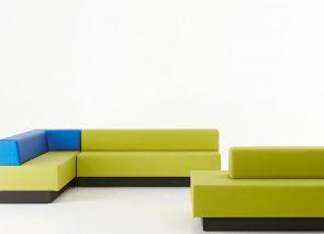 Davant loungebank en ziteiland op maat in vele kleuren leverbaar
