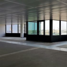 Nu nog leeg, etage voor Hays in het WTC in Utrecht